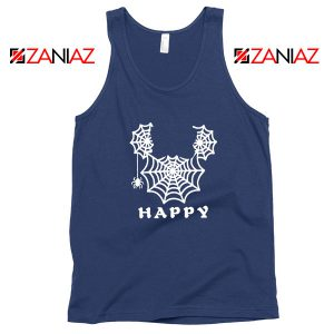 Spider Mickey Mouse Navy Blue Tank Top