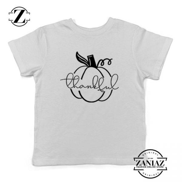 Thankful Pumpkin Kids Tshirt