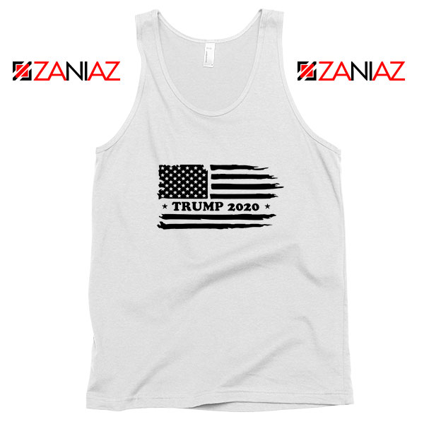 Trump American Flag Tank Top