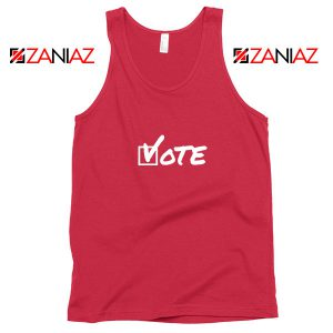 Vote 2020 Election Red Tank Top