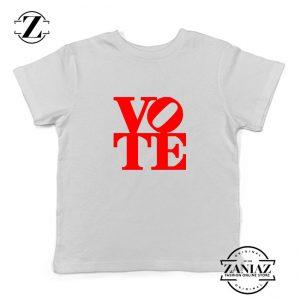 Vote Graphic Kids Tshirt