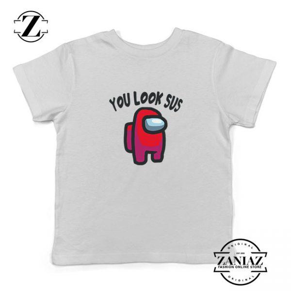 You Look Sus Kids Tshirt