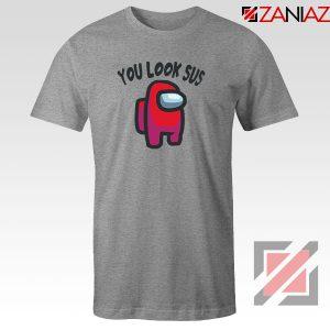 You Look Sus Sport Grey Tshirt