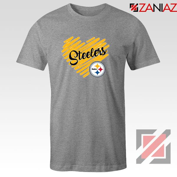 Pittsburgh Steelers Sport Grey Tshirt
