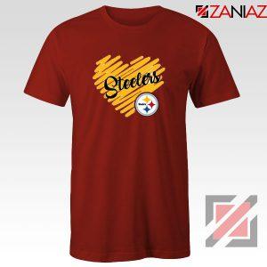 Pittsburgh Steelers Red Tshirt