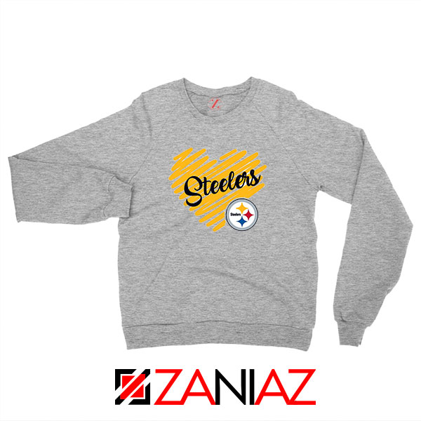 Pittsburgh Steelers Sport Grey Sweatshirt