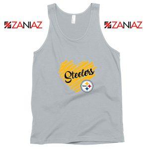 Pittsburgh Steelers Sport Grey Tank Top