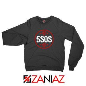 5SOS Circle Skull Sweatshirt