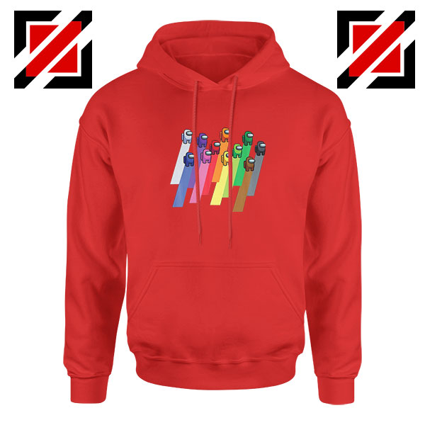Among Us Imposter Red Hoodie