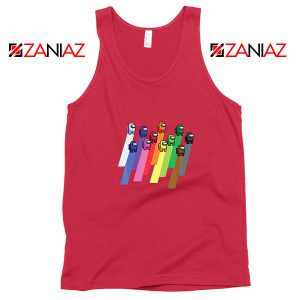 Among Us Imposter Red Tank Top