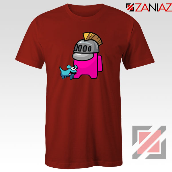 Among Us Pink Red Tshirt