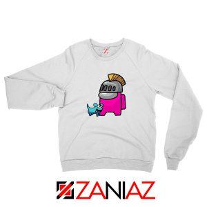 Among Us Pink Sweatshirt