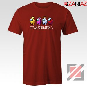 Among Us Squad Red Tshirt