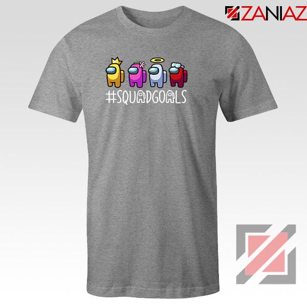 Among Us Squad Sport Grey Tshirt