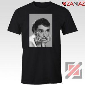Audrey Hepburn Middle Finger Tshirt