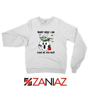 Baby Yoda Boo Sweatshirt