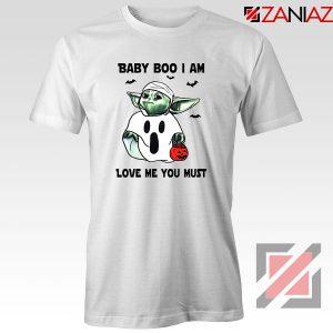 Baby Yoda Boo Tshirt