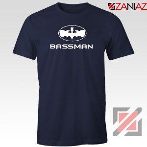 Bassman Guitarist Navy Blue Tshirt