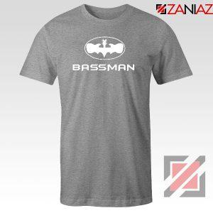 Bassman Guitarist Sport Grey Tshirt