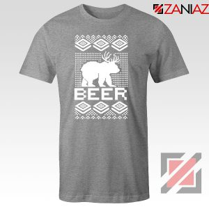 Bear Christmas Sport Grey Tshirt
