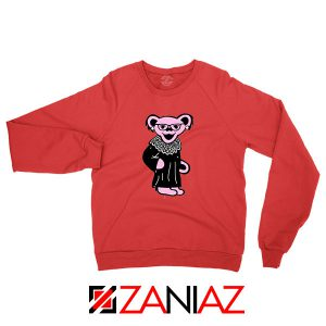 Bear Grateful Dead Red Sweatshirt