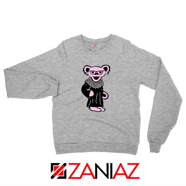 Bear Grateful Dead Sport Grey Sweatshirt