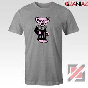 Bear Grateful Dead Sport Grey Tshirt
