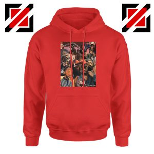 Brent Faiyaz Graphic Red Hoodie