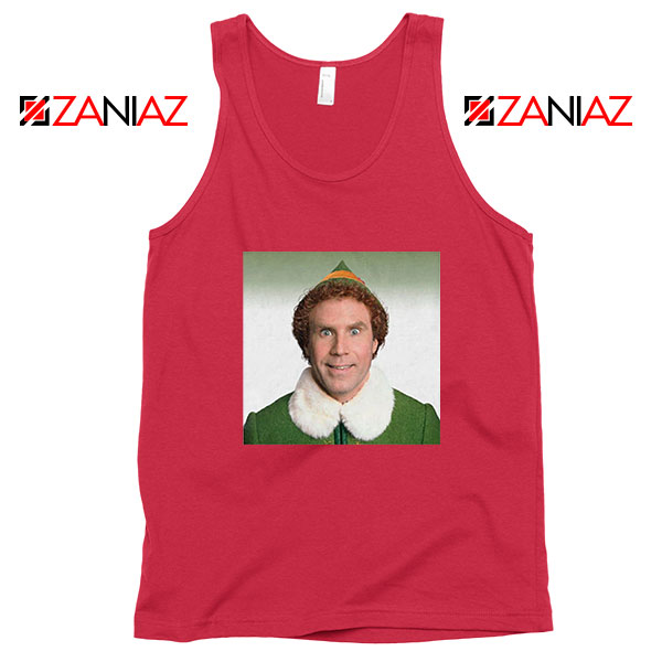 Buddy The Elf Red Tank Top