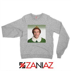 Buddy The Elf Sport Grey Sweatshirt