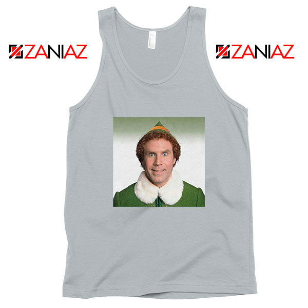 Buddy The Elf Sport Grey Tank Top