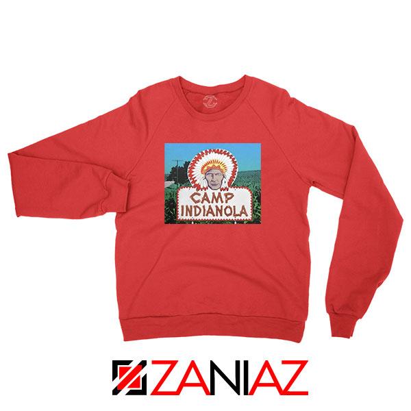 Camp Indianola Red Sweatshirt
