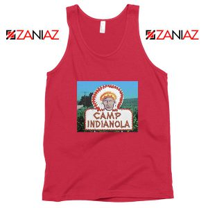 Camp Indianola Red Tank Top