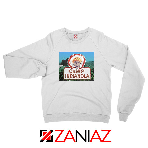 Camp Indianola White Sweatshirt