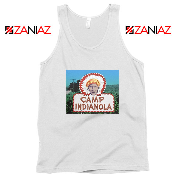Camp Indianola White Tank Top