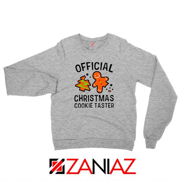 Christmas Cookie Taster Sport Grey Sweatshirt