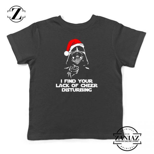 Darth Vader Christmas Kids Tshirt
