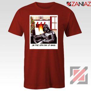 Darth Vader Sith Day of Xmas Red Tshirt