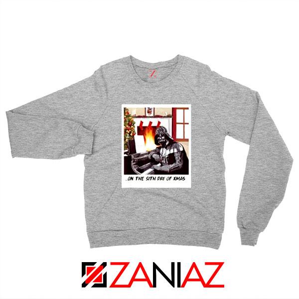 Darth Vader Sith Day of Xmas Sport Grey Sweatshirt
