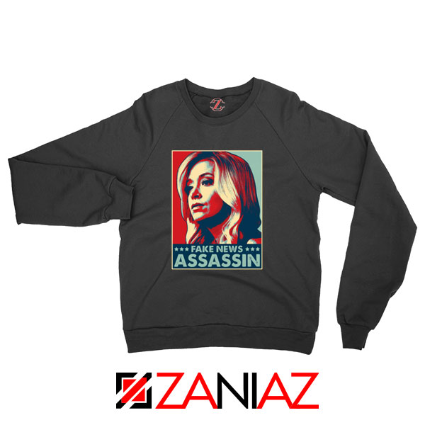 Fake News Assassin Black Sweatshirt