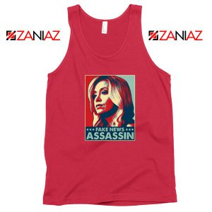 Fake News Assassin Red Tank Top