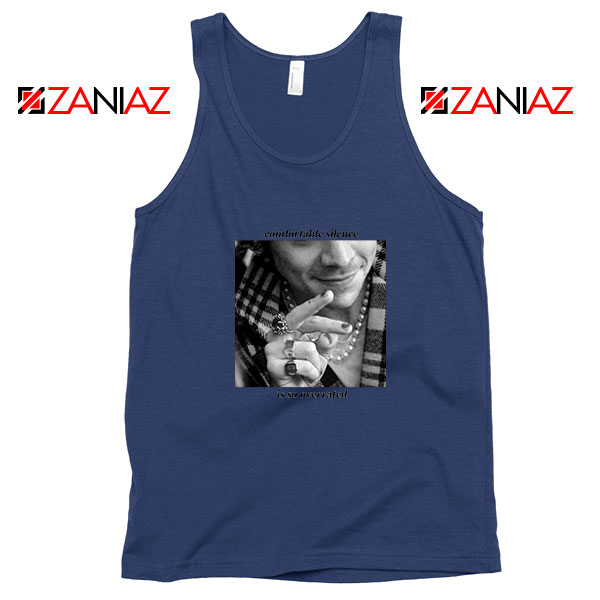 From The Dining Table Navy Blue Tank Top