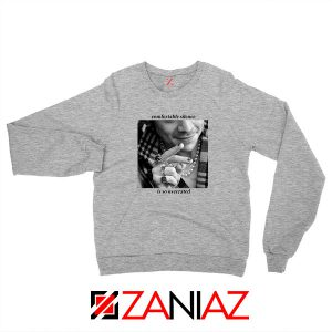 From The Dining Table Sport Grey Sweatshirt