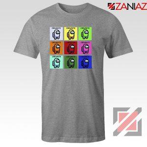 Impostor or crewmate Sport Grey Tshirt