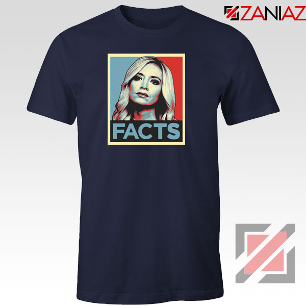 Kayleigh Facts Navy Blue Tshirt