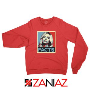 Kayleigh Facts Red Sweatshirt