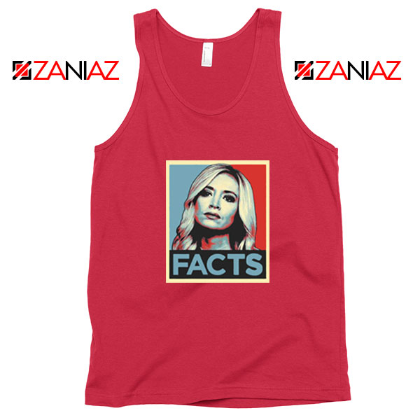 Kayleigh Facts Red Tank Top