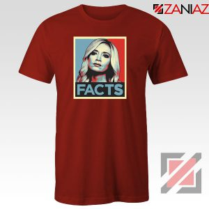 Kayleigh Facts Red Tshirt