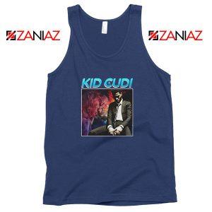 Kid Cudi Black Rap Navy Blue Tank Top