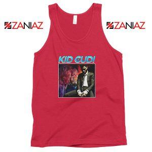 Kid Cudi Black Rap Red Tank Top
